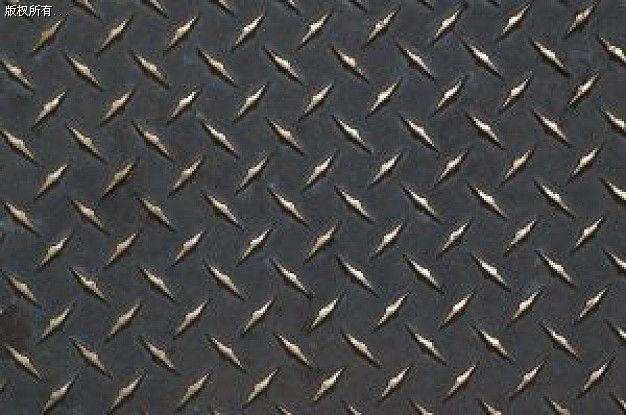 菱形花纹板